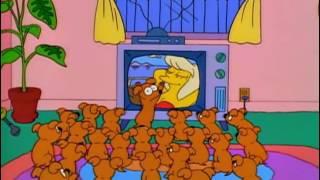 Quita del medio ese gato | Los Simpson