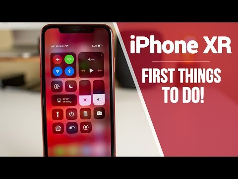 iPhone XR - First 12 Things To Do!