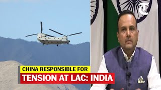 Border situation in Ladakh direct result of Chinese action to effect unilateral change in status quo - Download this Video in MP3, M4A, WEBM, MP4, 3GP
