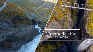 NORWAY CINEMATIC FPV - INTRODUCTION