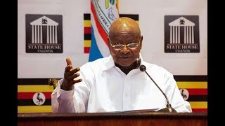 Museveni: Sorry, I'm here to stay - VIDEO