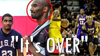 The Time Kyrie Irving TALKED TRASH To Kobe Bryant And Got Fathered