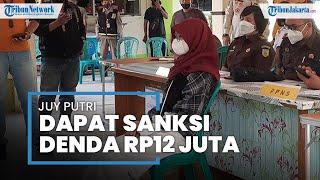 Seleb TikTok Juy Putri yang Langgar PPKM di Bekasi Dapat Hukuman Denda Rp12 Juta