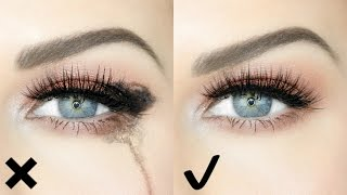 HOW TO STOP YOUR EYES WATERING WHEN APPLYING & WEARING MAKEUP!! | QUICK & EASY HACK!!