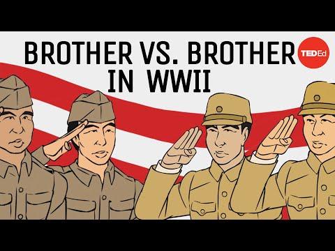 Japonští bratři jako váleční nepřátelé
