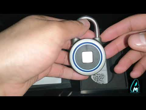 WGCC Fingerprint Bluetooth Security Padlock (Review)