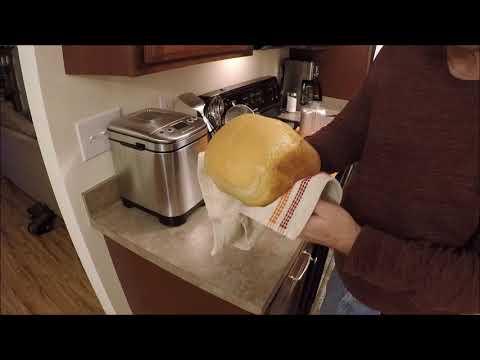 , Cuisinart CBK-110 Compact Automatic Bread Maker, Silver
