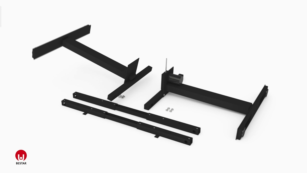 Assembly instruction Frame of Height Adjustable table PA-1000-18
