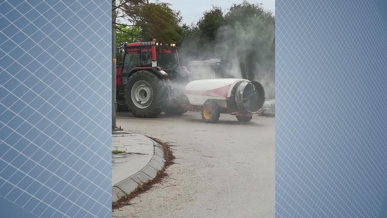 Nuevo vehículo con equipo fumigador