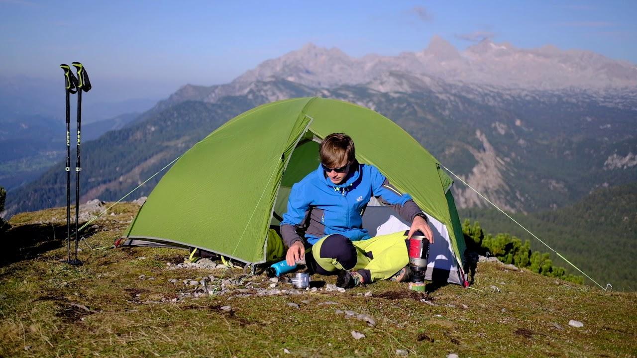 Видео Палатка двухместная Hannah Tercel 2 зеленая