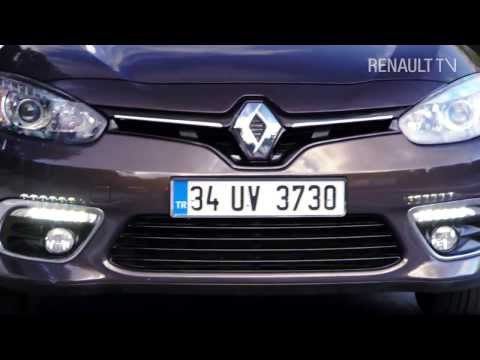 New Renault Fluence test drive in at Istanbul by RENAULT TV