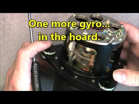 AN/USD-502 drone vertical gyroscope teardown