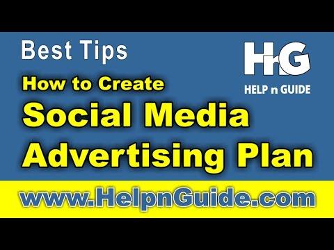 How to Create Social Media Advertising Plan? Basic Tips - Sir Muhammad Ahmed Raza