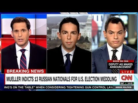 Mueller Indicts 13 Russian Nationals For U.S. 2016 Election Meddling - Via CNN