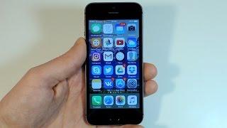 iOS 10.2.1 iPhone 5s