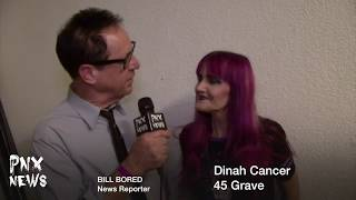 45 Grave (PNX NEWS) Happy Halloween !!!! (Dinah Cancer)