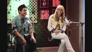 Hannah Montana Ft. David Archuleta- I Wanna Know You (With Lyrics)