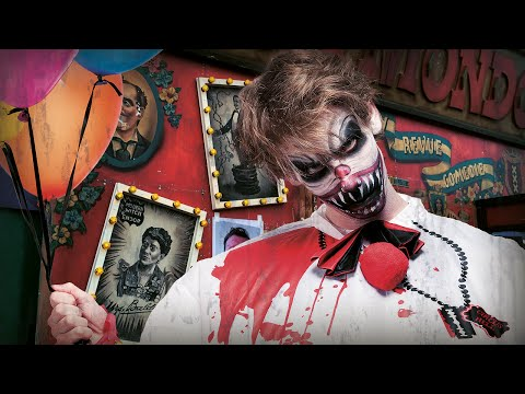 Halloween clown horror make-up tutorial