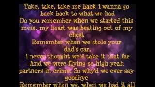 Remember When (Push Rewind) Lyrics Chris Wallace