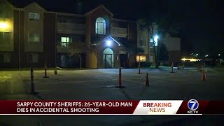 26-year-old man dies in 'accidental shooting' at Bellevue apartment complex