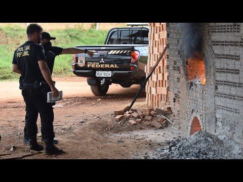 POLICIA FEDERAL REALIZA DESTRUIÇÃO DE APROXIMADAMENTE 579 KG DE COCAÍNA