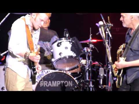 Matthew Curry Jamming with Peter Frampton!