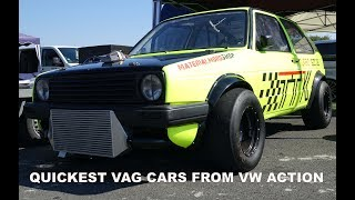 QUICKEST VAG CARS FROM VW ACTION - 2015 to 2018 - Sub 9 Second 1/4 Mile