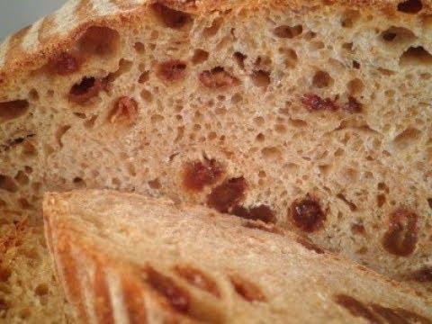 Хлеб с изюмом/Пасхальный кулич/Кекс с изюмом/Рецепт