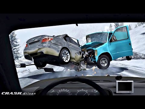 FIRST PERSON (POV) CRASHES #1 - BeamNG Drive