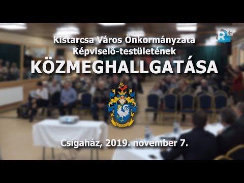 Közmeghallgatás - 2019. november 7.