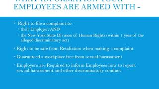 NYS Free Sexual Harassment Policy and Complaint Form  Employer BEWARE  in under 6 minutes!