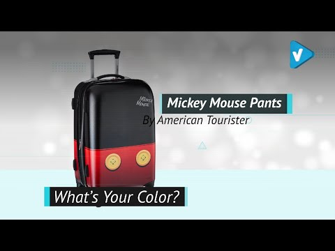 "American Tourister Disney 21"" Hardside Spinner Luggage - Choose Your Character!"