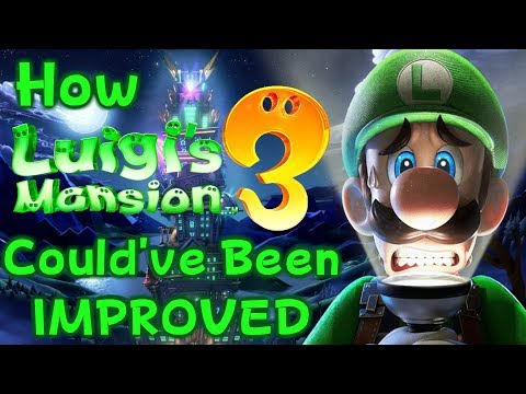 How Luigi's Mansion 3 Could've Been IMPROVED! - ZakPak