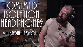 Drum Hack | Isolation Headphones UNDER $20