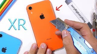 Apple iPhone XR Durability Test - is the 'cheap' iPhone weak?