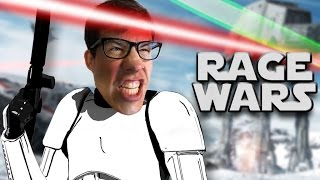 REVENGE OF THE RAGE - Star Wars Battlefront Gameplay