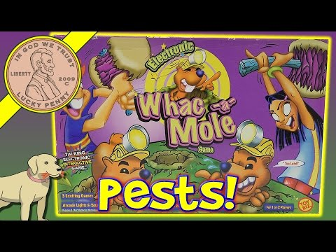 Whac-a-Mole Family Game - Time To Hammer Some Moles!