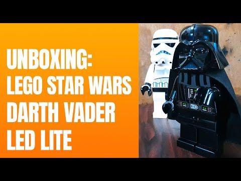 UNBOXING: LEGO Star Wars Darth Vader LED LITE