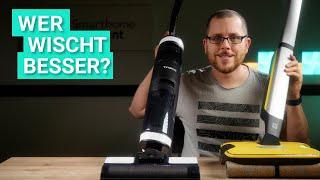 Kärcher FC7 Cordless vs. Tineco Floor One S3 - Wer kann besser wischen?