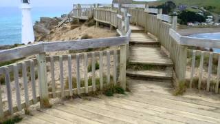 preview picture of video 'Castle Point Lighthouse, Wairarapa, New Zealand'