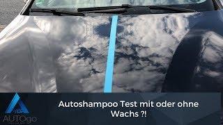 Autoshampoo mit Wachs oder ohne ? Sonax Autoshampoo vs. Surf City Garage Wach&Wax