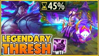 THRESH TURNS INTO A HUMAN!! (LEGENDARY SKIN) - BunnyFuFuu | League of Legends