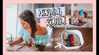 THE BEST WAY TO START EACH MORNING | WAKE UP WITH ME!