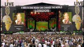 Live 8 UB40 with Hunbetz & The Dhol Blasters - Reason & Red Red Wine