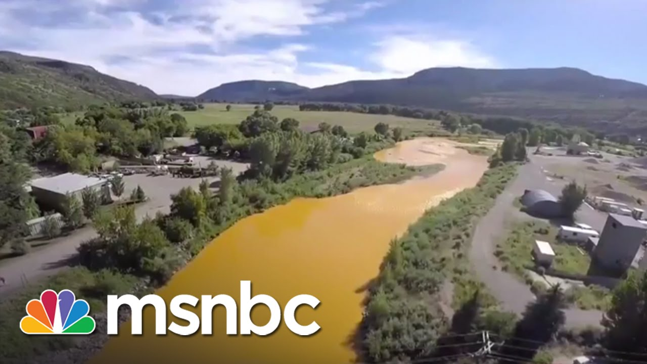 Erin Brockovich Weighs In On Huge Toxic Spill | msnbc thumbnail