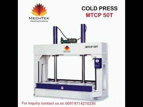 Three Layer Hot Press Machine