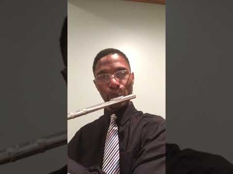 Enjoying the sound of my flute. Lets make music!!!