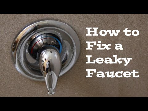 How to replace a Moen Cartridge and fix a leaky bathtub faucet | Fix it tutorials