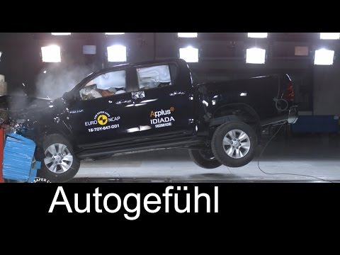 Toyota Hilux Crash Test – Autogefuhl