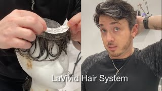 Custom Men Hair Replacement System from LaVivid | How to Apply and Style